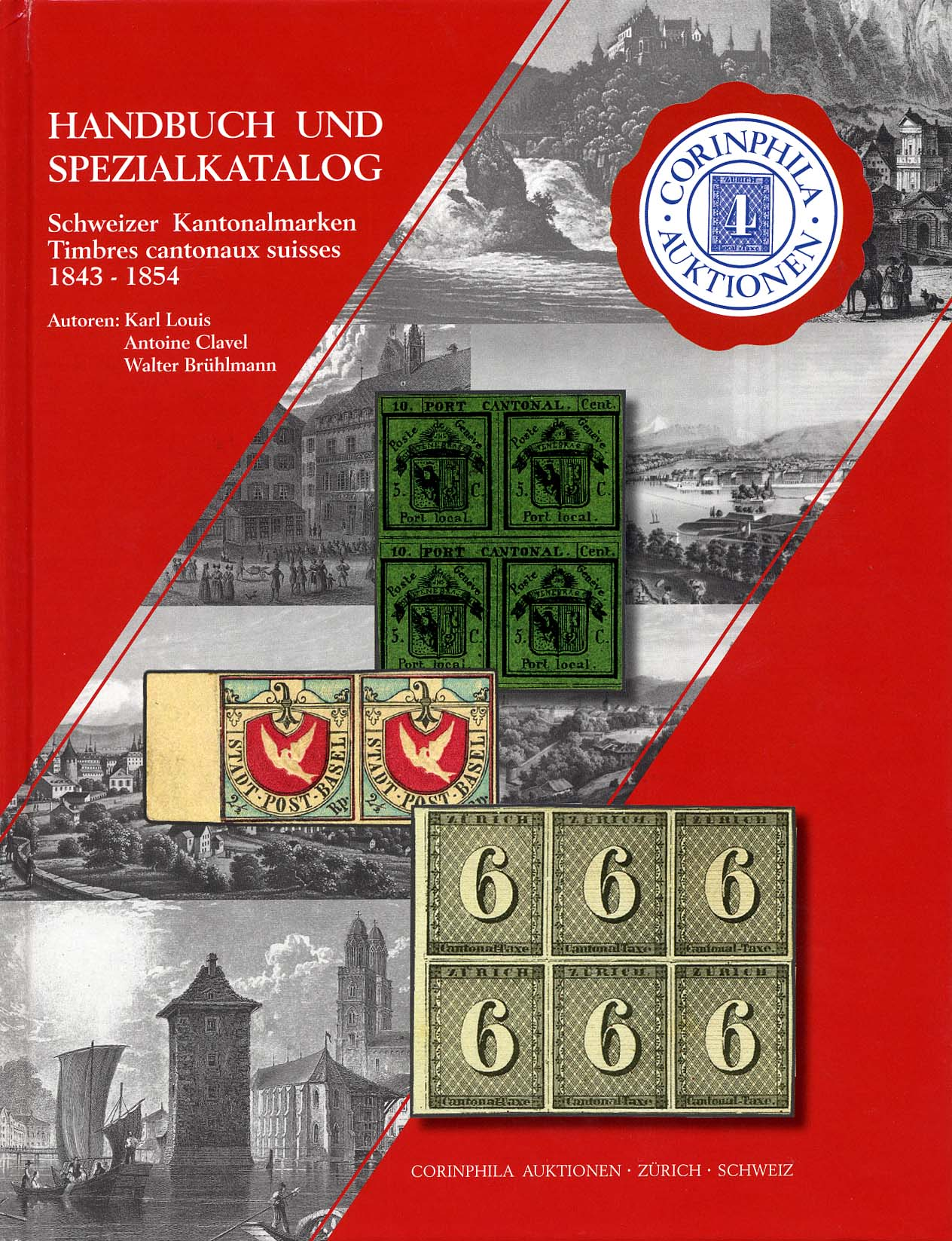 Reference book and Special Catalogue Schweizer Kantonalmarken